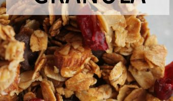 How to Make Easy Chocolate Cranberry Granola