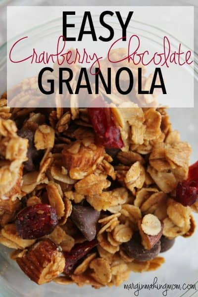 I love the sweet, crunchy perfection of this perfectly easy granola. It is great by itself or as a yummy topping for yogurt or ice cream!