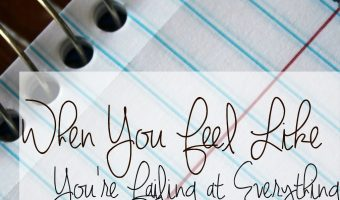 When You Feel Like You're Failing at Everything: A Journey Toward Margin
