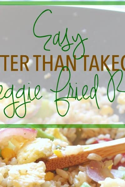 The Best Quick and Easy Veggie Fried Rice