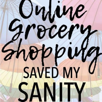 How to Use Online Grocery Shopping to Save Your Sanity