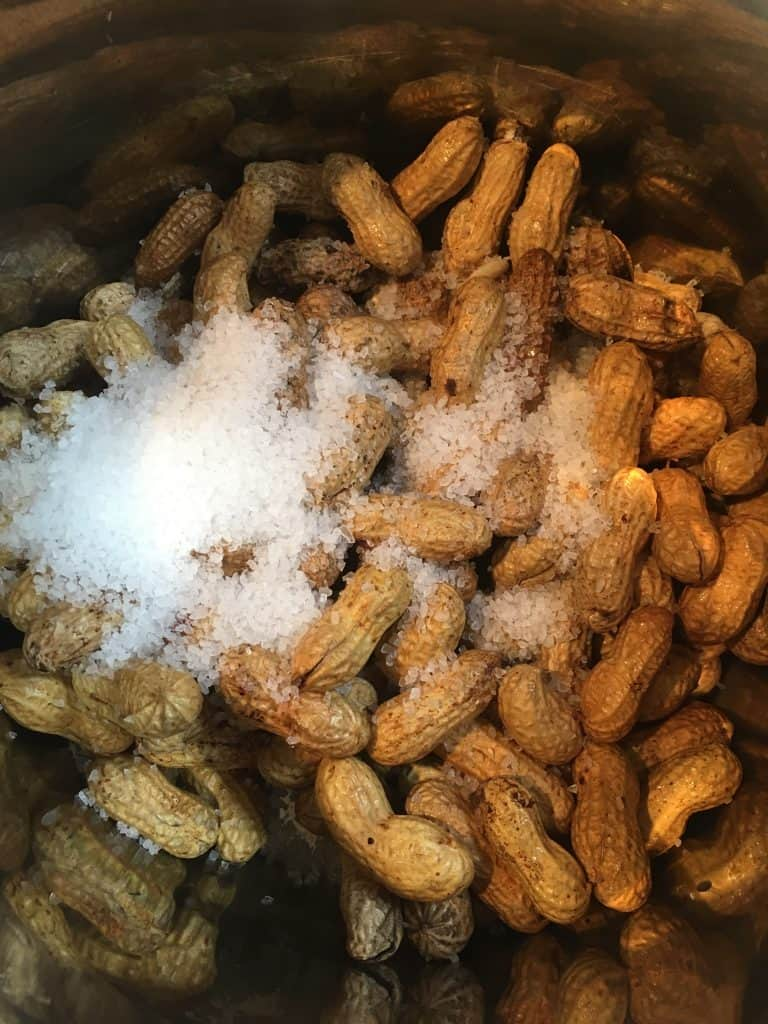 Making boiled peanuts in the Instant Pot is a cinch! Click through to find out how!