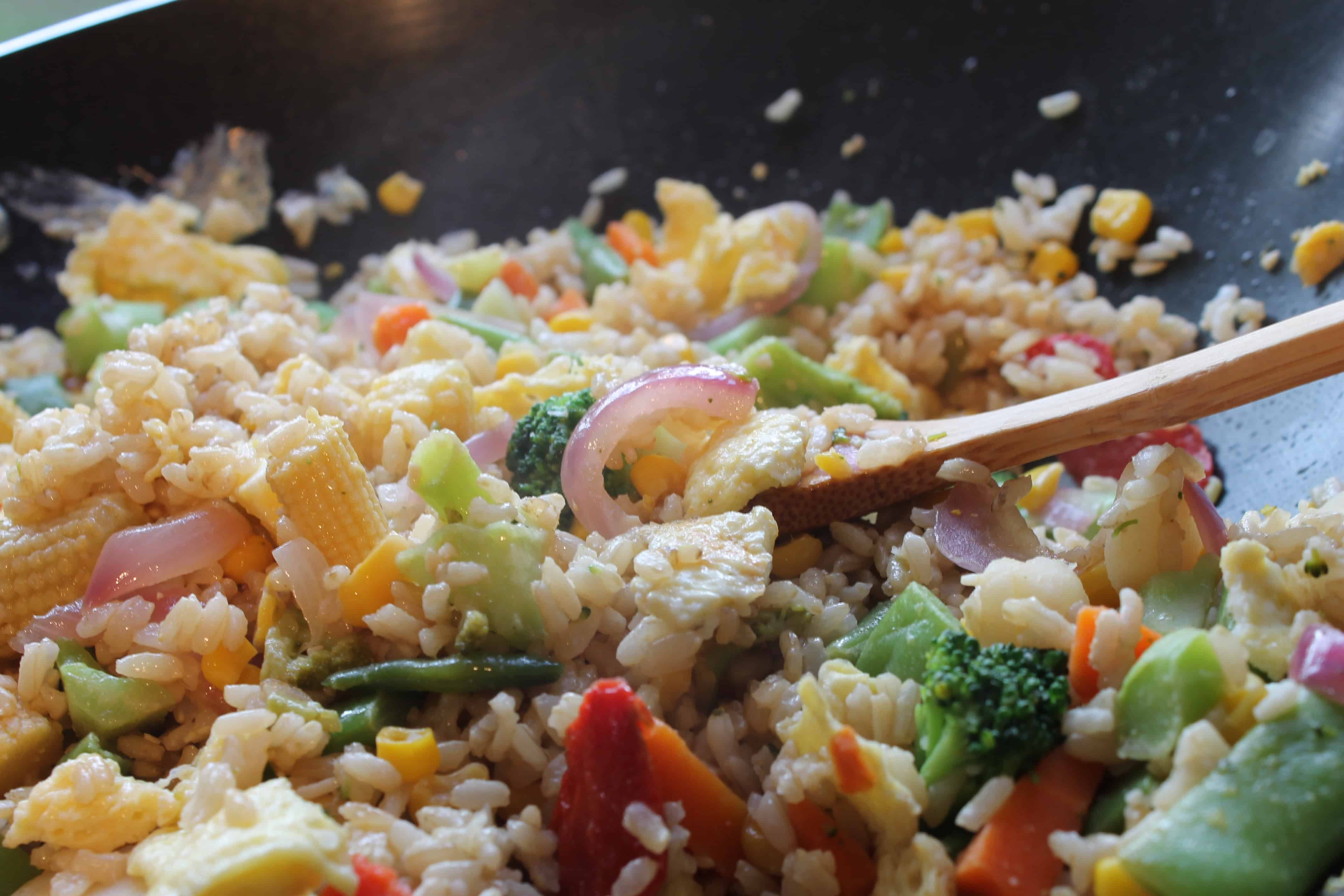 Easy Better Than Takeout Veggie Fried Rice
