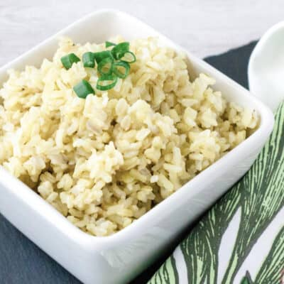 Failproof Instant Pot Brown Rice