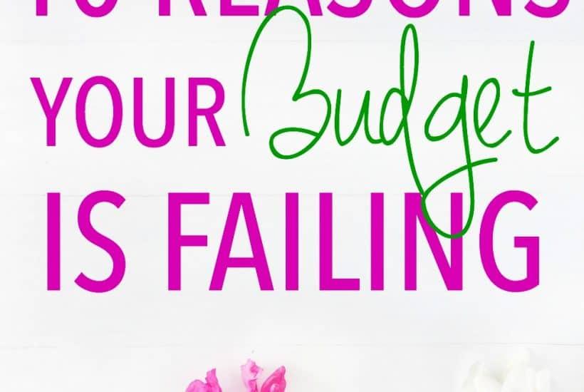Budget Fail   Budgeting