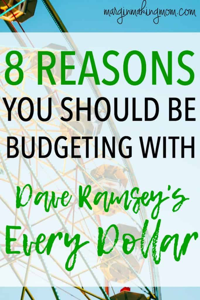 These 8 reasons you should be budgeting with Dave Ramsey's Every Dollar, a robust and user-friendly budgeting tool, will show you just how simple budgeting can be! How to Budget | Every Dollar | Dave Ramsey