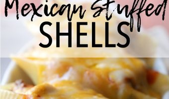 Cheesy Mexican Stuffed Shells