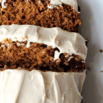 Gingerbread with Maple Cream Cheese Frosting