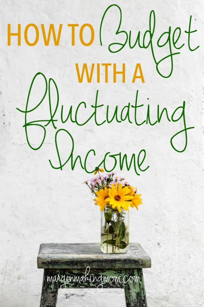 Even if you have a fluctuating income that is irregular from month to month, it is still possible to create a monthly budget in just a few easy steps. Budgeting | Irregular Income | Budget Tips | How to Budget