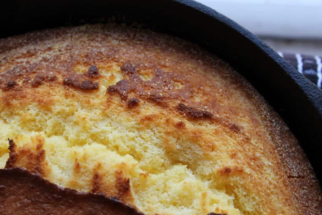 Cast Iron Skillet | Cornbread | Frugal Side | Southern Cornbread