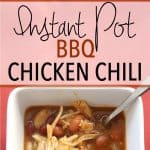 Instant Pot BBQ Chicken Chili