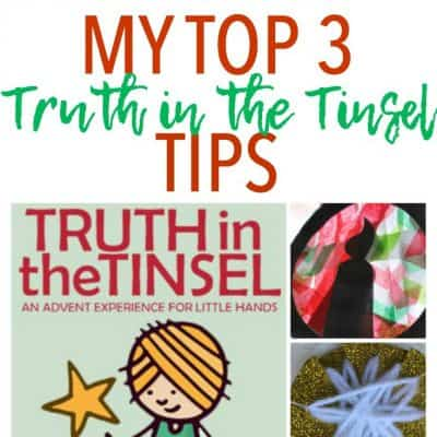 My Top 3 Truth in the Tinsel Tips