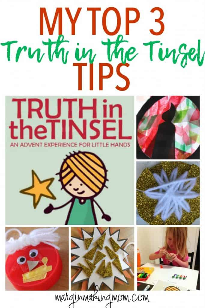 Truth in the Tinsel is a wonderful way to teach your children the Christmas story. These are my top 3 Truth in the Tinsel tips for making it as easy as possible!