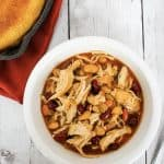The Best BBQ Chicken Chili in the Instant Pot Pressure Cooker