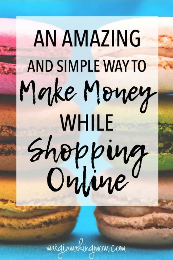 This easy way to make money while shopping online has earned me hundreds of dollars! If you're going to be shopping, you might as well make some money doing it! Earn money online | Online Shopping | Ebates Review