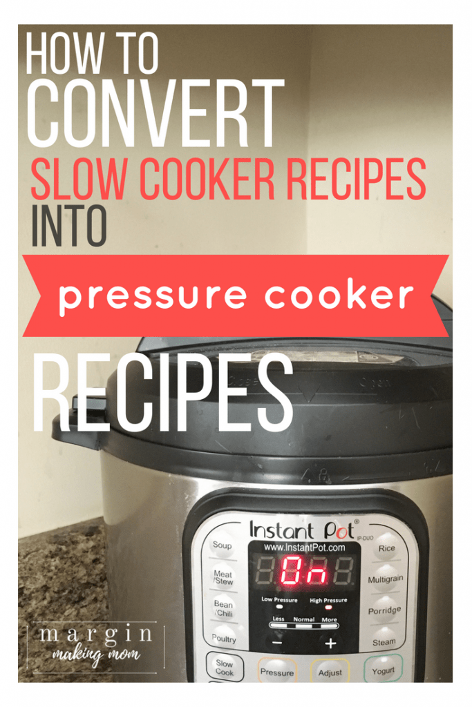 Instant Pot pressure cooker on a kitchen countertop