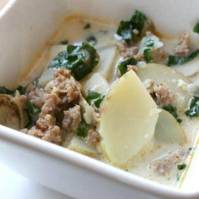 Easy Instant Pot Zuppa Toscana (Olive Garden Copycat)