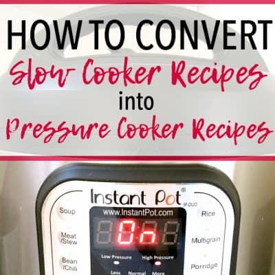 How to Make Your Favorite Slow Cooker Recipes in the Pressure Cooker