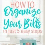 How to Keep Your Bills Organized in Just 5 Easy Steps