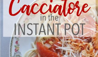 Healthy Chicken Cacciatore Made Simple in the Instant Pot
