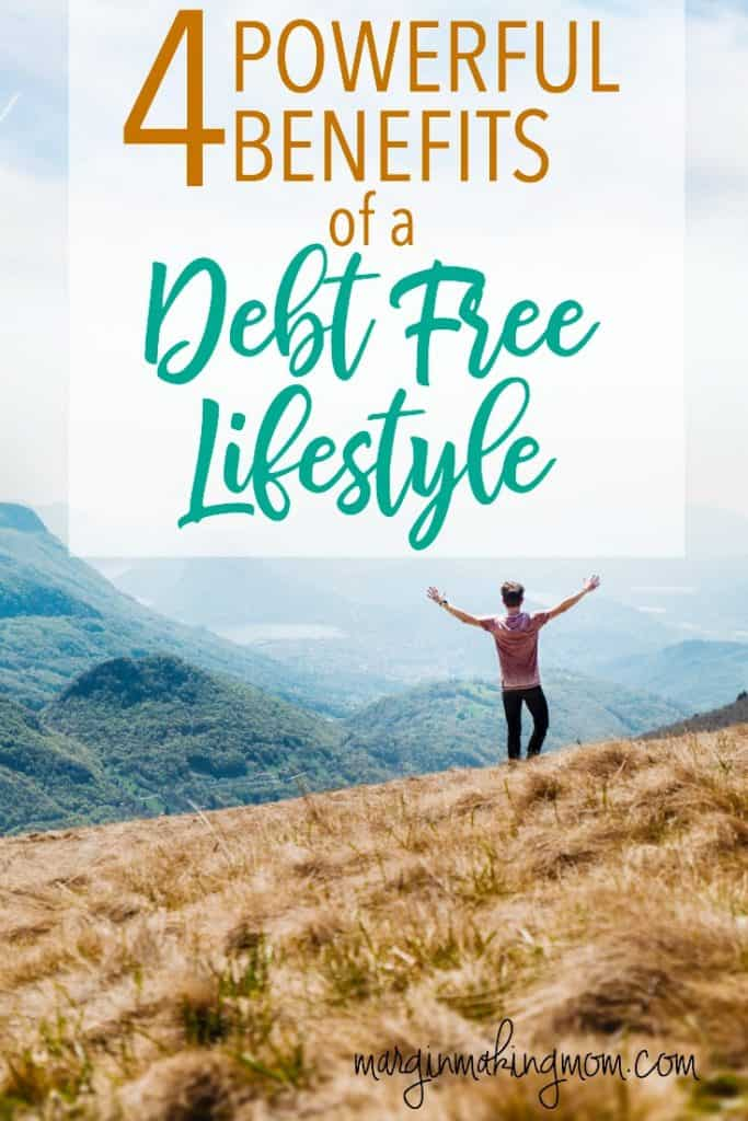 These powerful benefits of a debt free lifestyle were what kept us going when we felt like giving up. Becoming debt free isn't easy, but the hard work comes with a big payoff. Click through to read more! Become Debt Free | Debt Free Tips | Debt Free Lifestyle