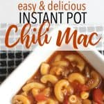 A Weeknight Favorite: Chili Mac in the Pressure Cooker