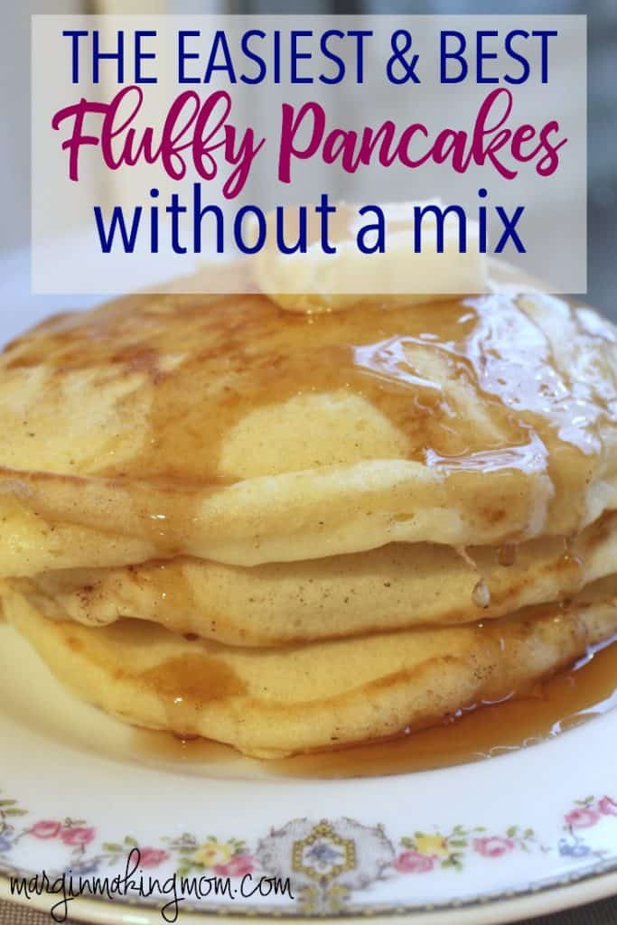 Better than the box how to make fluffy pancakes margin making mom pancakes dont have to start with a mix learn how to make fluffy ccuart Choice Image