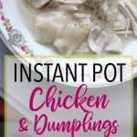 The Best Pressure Cooker Chicken and Dumplings