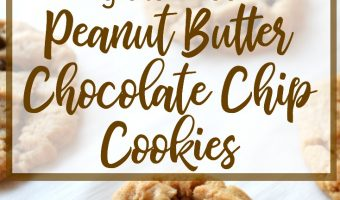 The Best Quick and Easy Peanut Butter Chocolate Chip Cookies