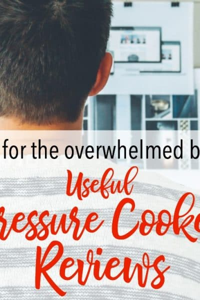 How to Narrow Down Your Options: Useful Pressure Cooker Reviews