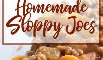Family Favorites: How to Make Homemade Sloppy Joes
