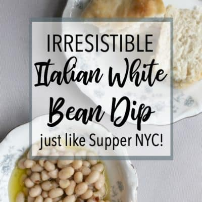 How to Make Irresistible Italian White Bean Dip