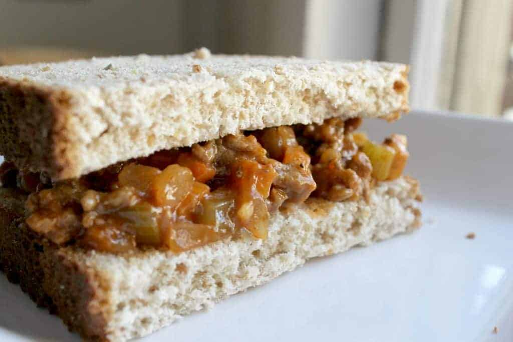 Making homemade sloppy joes doesn't require a can of sauce! You can easily make them with pantry staples. You can also hide veggies in there! This makes a great easy meal that even your picky eaters will enjoy! Click through to learn how to make them! Homemade Sloppy Joes | Easy Weeknight Meals