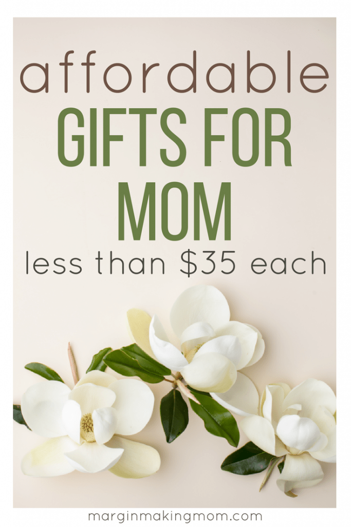 Finding affordable gifts for mom while you're on a tight budget doesn't have to be difficult. Check out this curated list of budget-friendly gifts your mom is sure to love, all for under $35!
