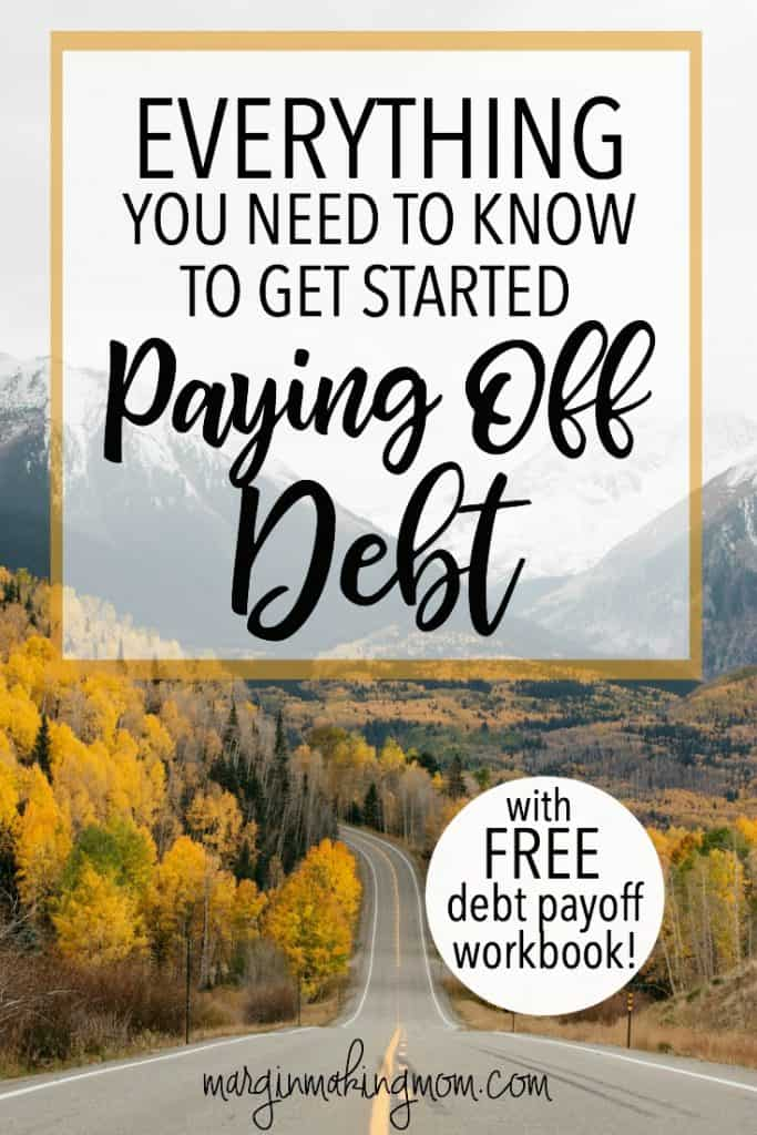 If you're ready to pay off debt, this comprehensive resource has you covered! Click through to learn more! Pay Off Debt | How to pay off debt quickly | Debt Free Journey