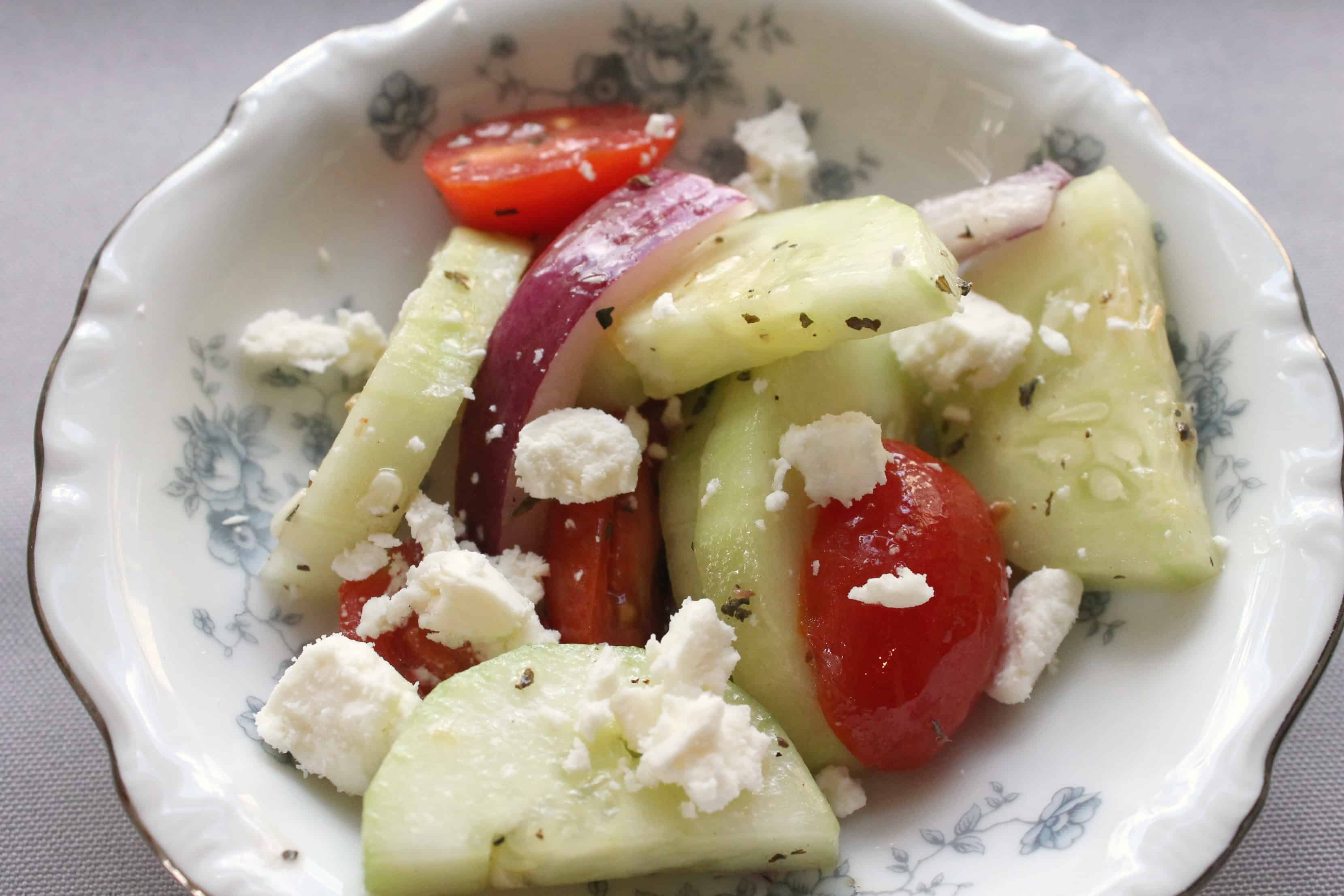 Simple Sides: How to Make the Easiest Summer Cucumber Salad