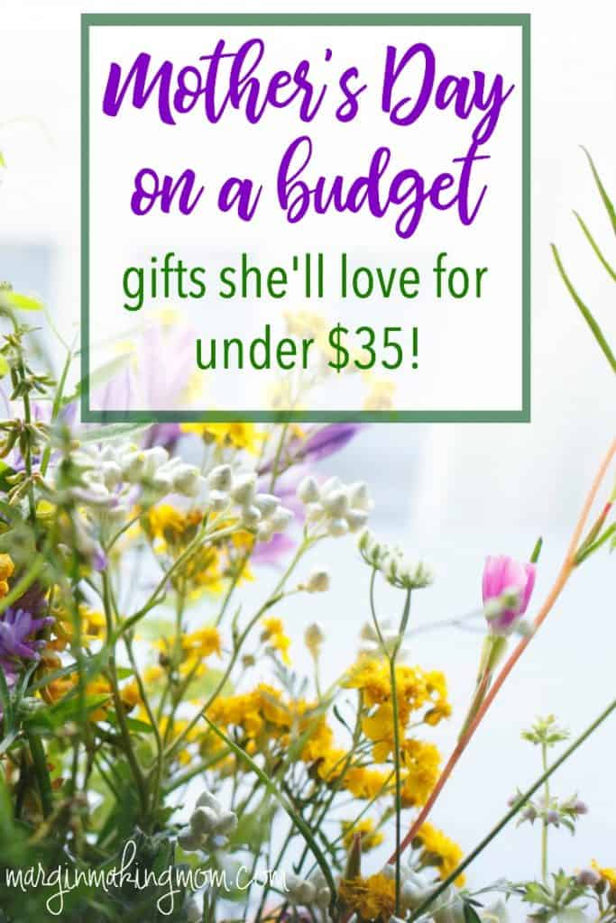 Finding Mother's Day gifts on a budget doesn't have to be difficult! Find the perfect gift for the moms in your life without spending a fortune.