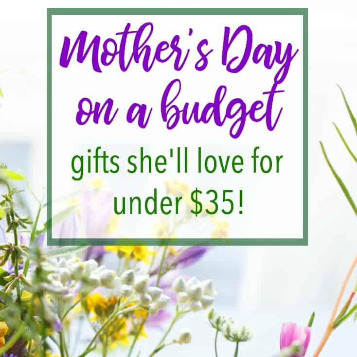 Mother 39 s day on a budget gifts she 39 ll love for under 35 for Gifts she ll love
