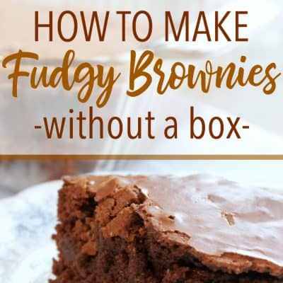 Better than the Box: How to Make the Best Brownies from Scratch