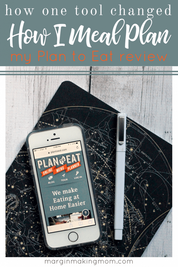 After meal planning for years, I recently gave up the paper and pen method. Check out my Plan to Eat review to learn how this tool can simplify your life!
