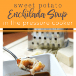 How to Make Pressure Cooker Sweet Potato Enchilada Soup