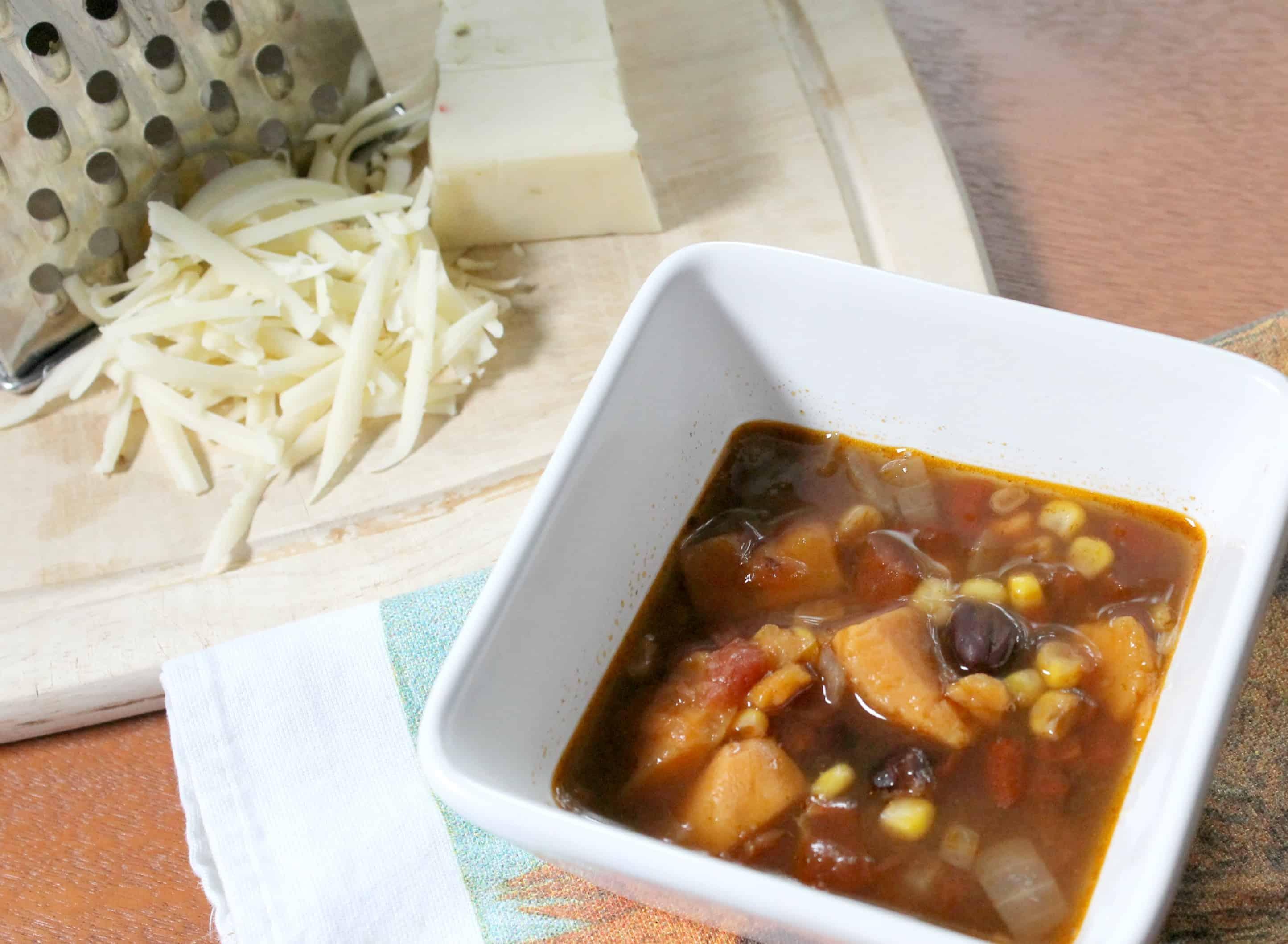 How to Make Pressure Cooker Sweet Potato Enchilada Soup