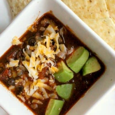 This delicious pressure cooker chili is a comforting meal made quick and easy in the Instant Pot. Your family is sure to love it!