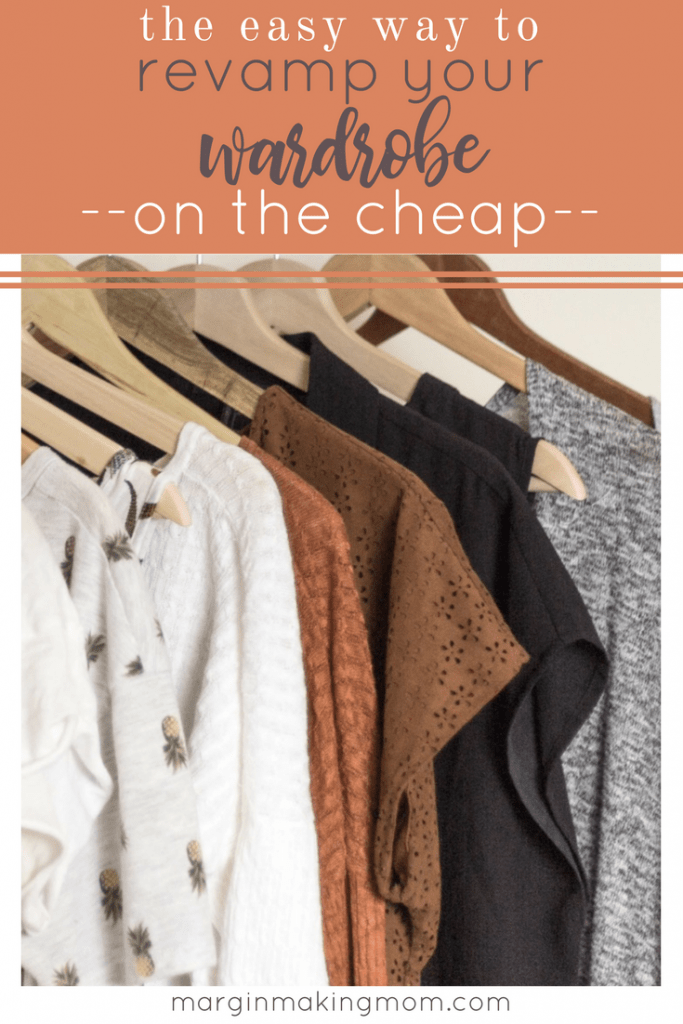 Nothing to wear? Buying quality clothes doesn't have to break the bank. Revamp your wardrobe on the cheap with this tip!!
