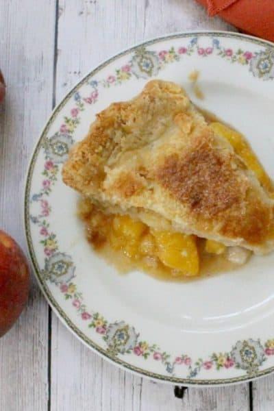 Deep Dish Peach Pie that Everyone Will Love