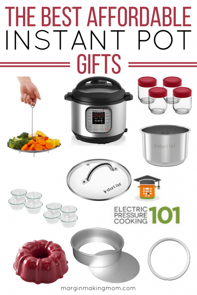 These affordable gift ideas for the Instant Pot lover will take the guesswork out of your shopping! They're sure to love these useful items! Click through to find the perfect gift. Instant Pot Gifts | Gifts for the Instant Pot Lover | What to Buy an Instant Pot Lover