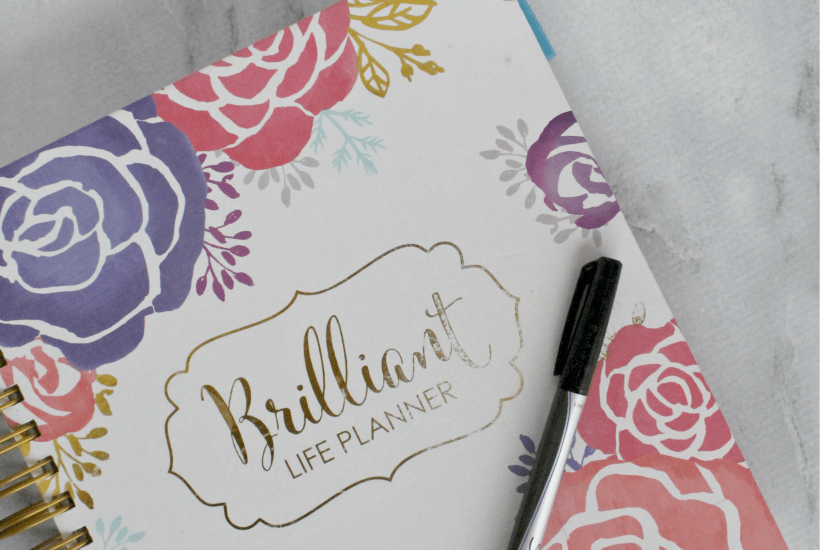 As a busy mom, it's not always easy to be intentional and organized. The Brilliant Life Planner helps you focus your time and energy on what matters most!