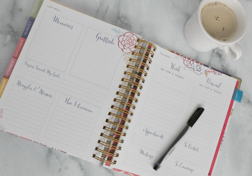 The Brilliant Life Planner helps you focus and prioritize your week!