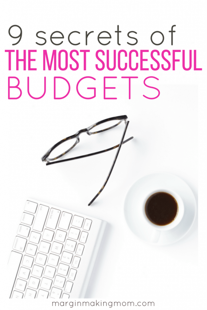 These secrets of the most successful budgets will help you create a budget that works for you, helping you to take control of your finances! These tips will help you make a budget that works. Click through to learn more! Budget Tips | How to Make a Budget That Works | Budget Success Tips | Successful Budgeting