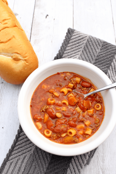 Easy and Delicious Pasta e Fagioli (Instant Pot or Stovetop)